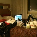 Diet 2011 del 6 (träna & äta på resande fot)