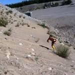 Intervaller i sandtaget på grus & Makadam