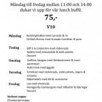 Veckans Lunchmeny på Piteå GK