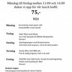 Veckans meny på Piteå GK