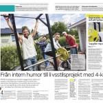 Projektet – Artikel i Piteå tidningen