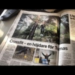 Reportage om CrossFit i Piteå Tidningen