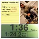 Roddmaskin – Med sikte på nytt PB 500 meter (FILM)