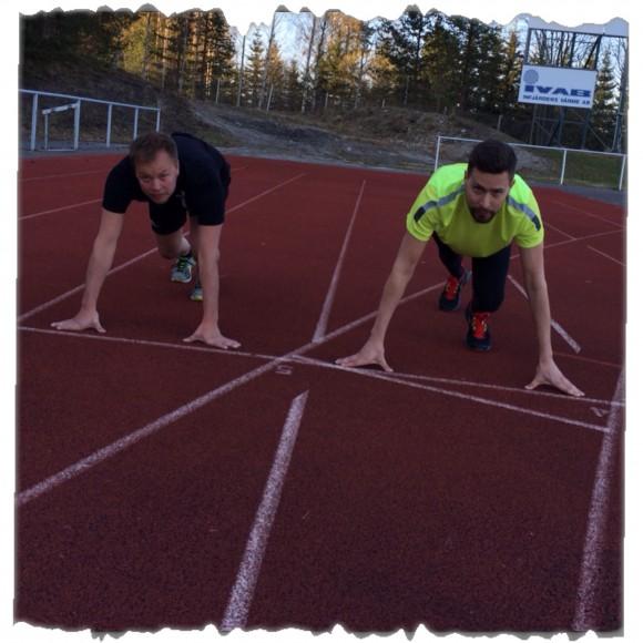 Tibban och Lasse 100 m