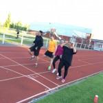 Projektet 2014 – Sluttest på 3000 meter löpning, plankan & burpess